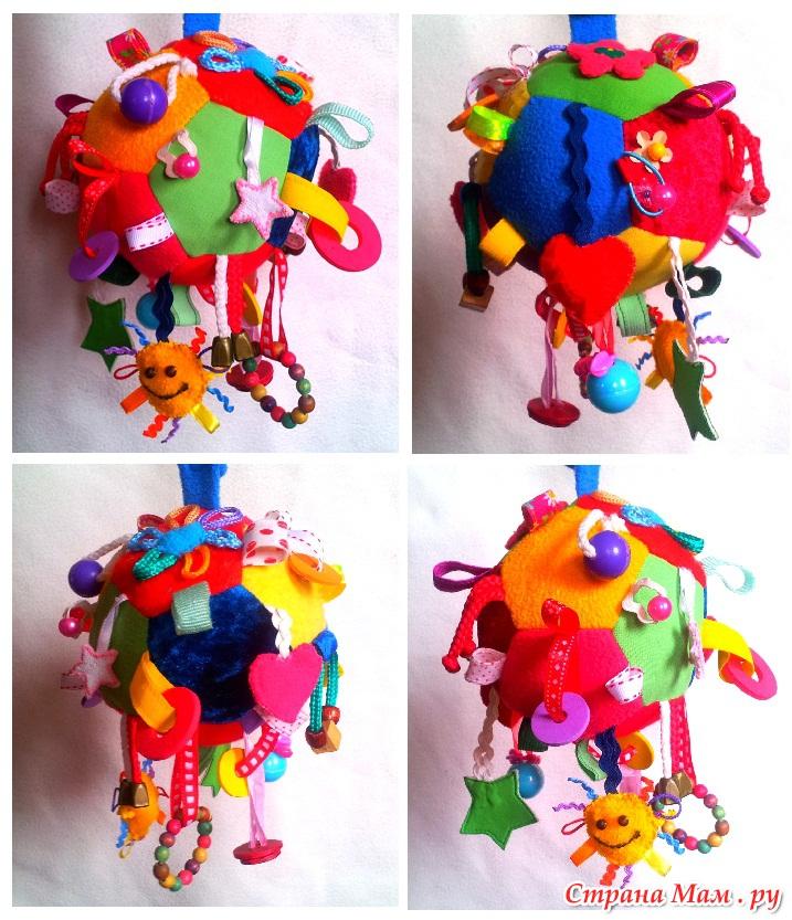Развивающая игрушка своими руками для малыша