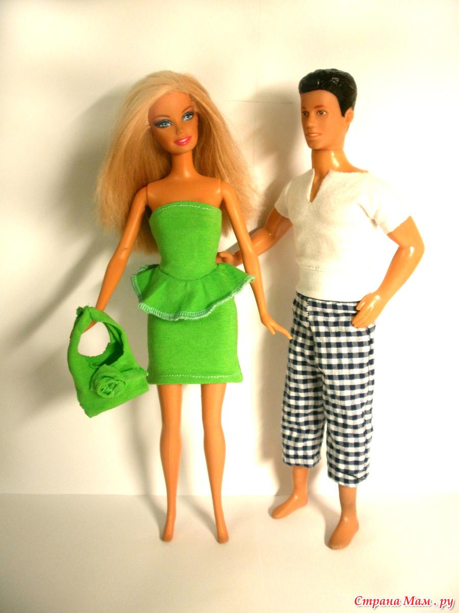 Русский народный костюм для Барби - Одежда для кукол 31