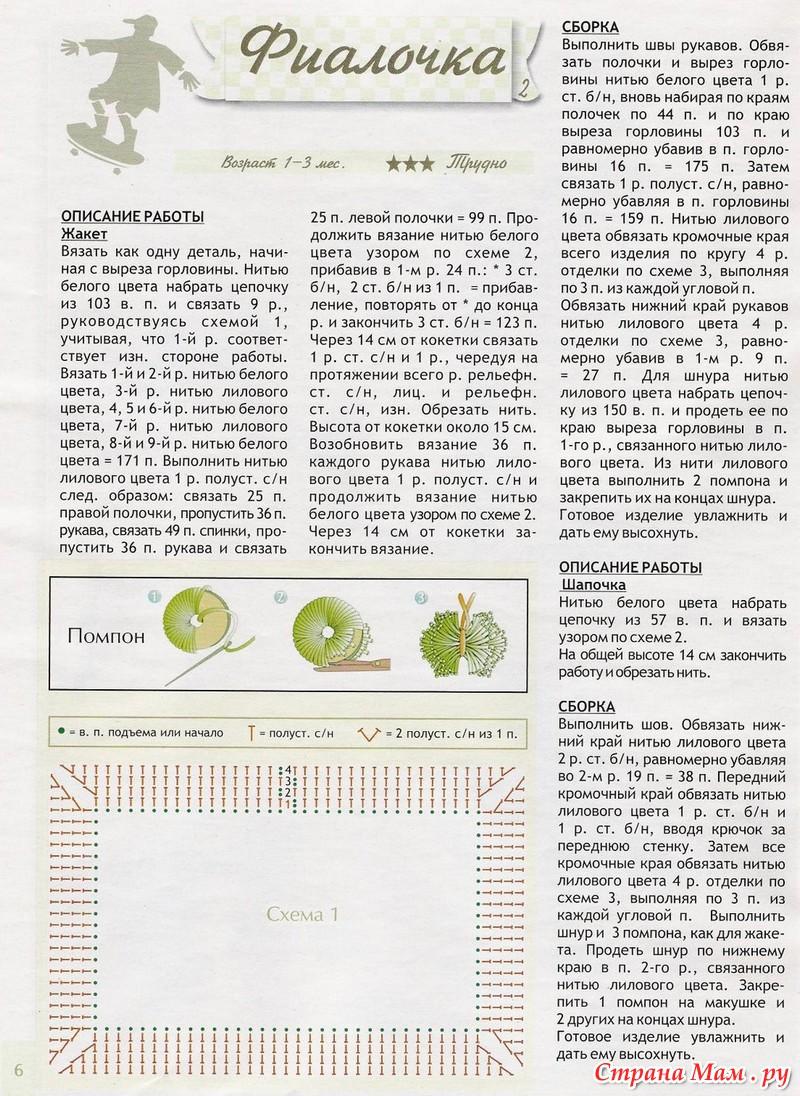Вязание и схемы крючком кофточек для новорожденных
