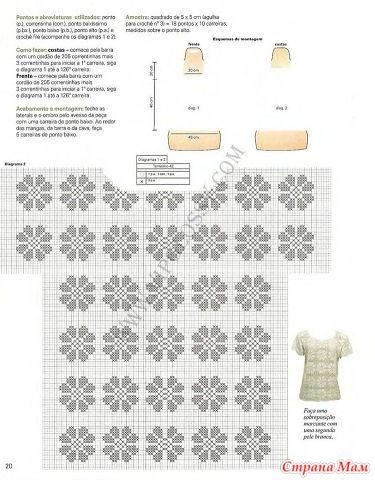 Вязание крючком филейное вязание узоры и схемы кофты