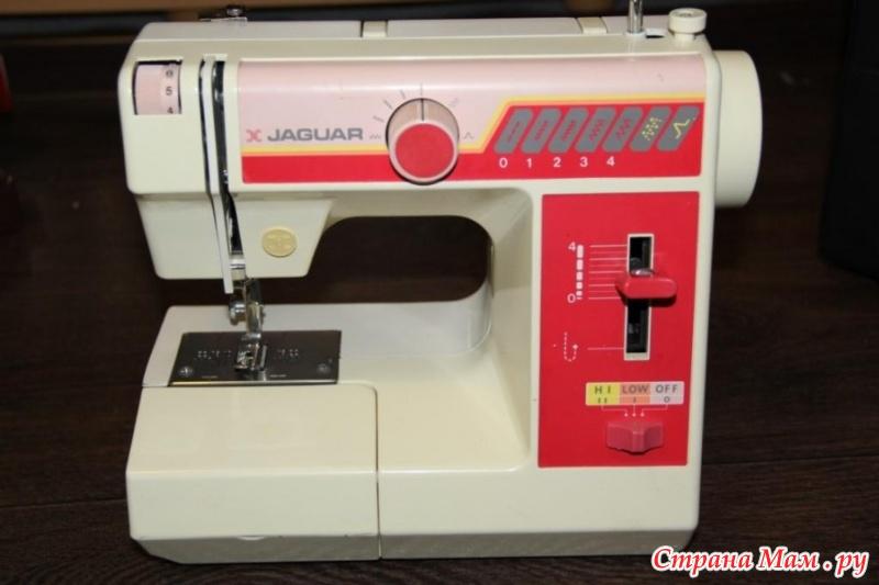 Инструкции швейная машинка ягуар