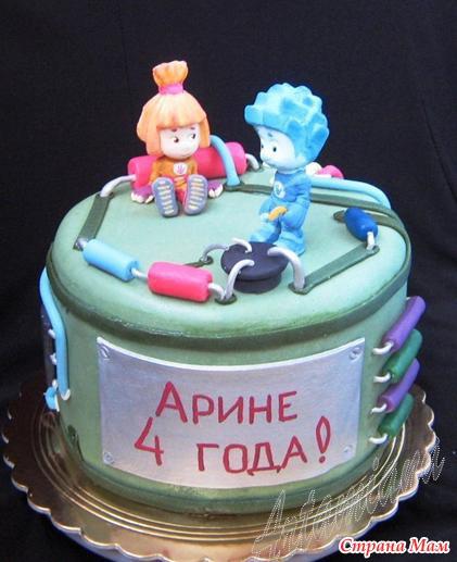 Торт свадебный двухъярусный кремовый фото 2