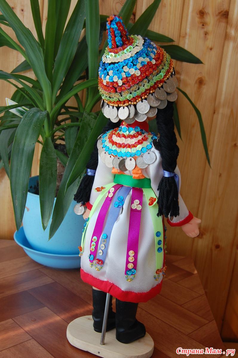 Чувашский народный костюм своими руками 54