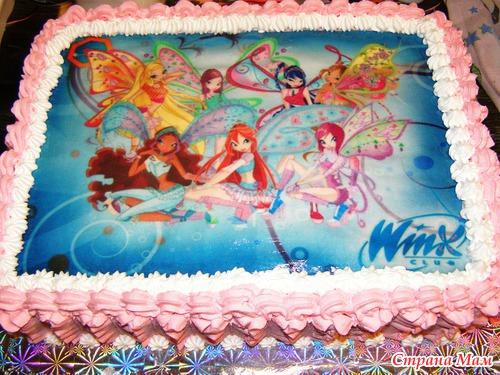 Фото-торт в красноярске