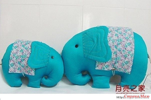 Игрушка слоник своими руками