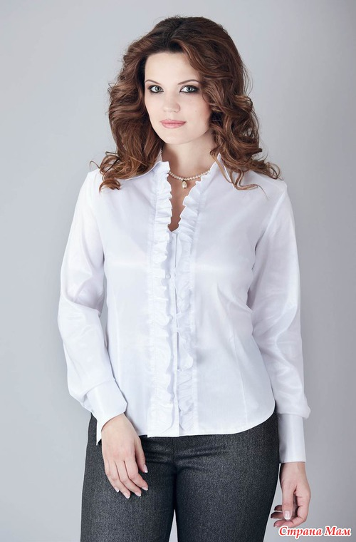 Купить Белую Блузку Недорого В Новосибирске