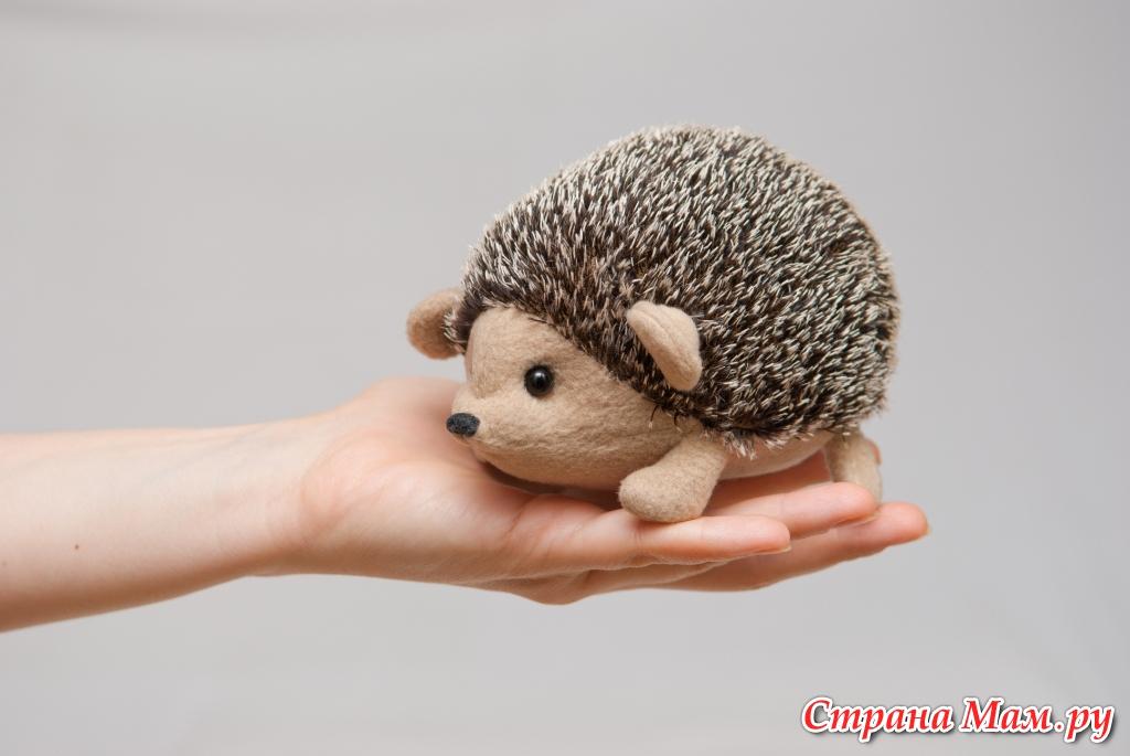 Мягкая игрушка своими руками - Малышка Ёж!
