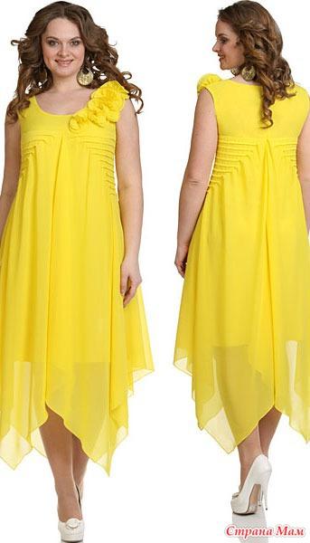 Красивые нарядные летние платья