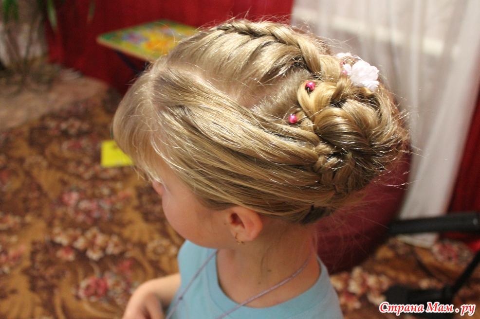 Прически ребёнку на праздник