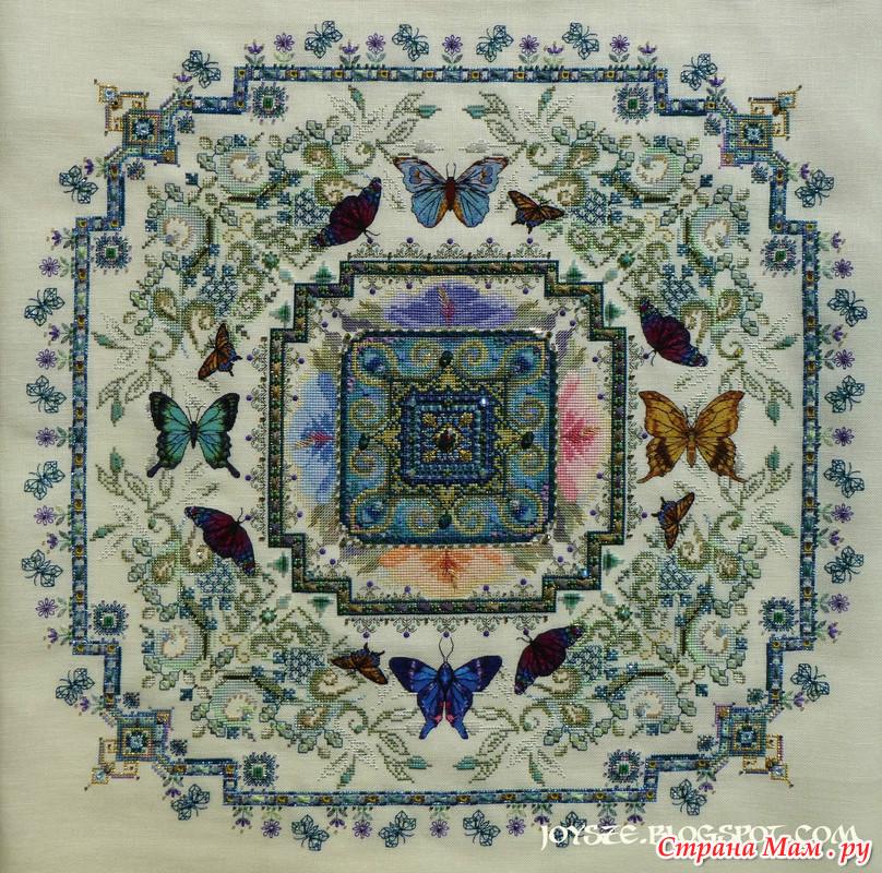 Butterfly Lace Mandala