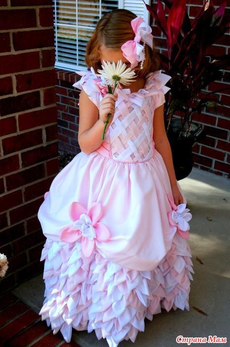 Платье на выпускной своими руками мастер класс