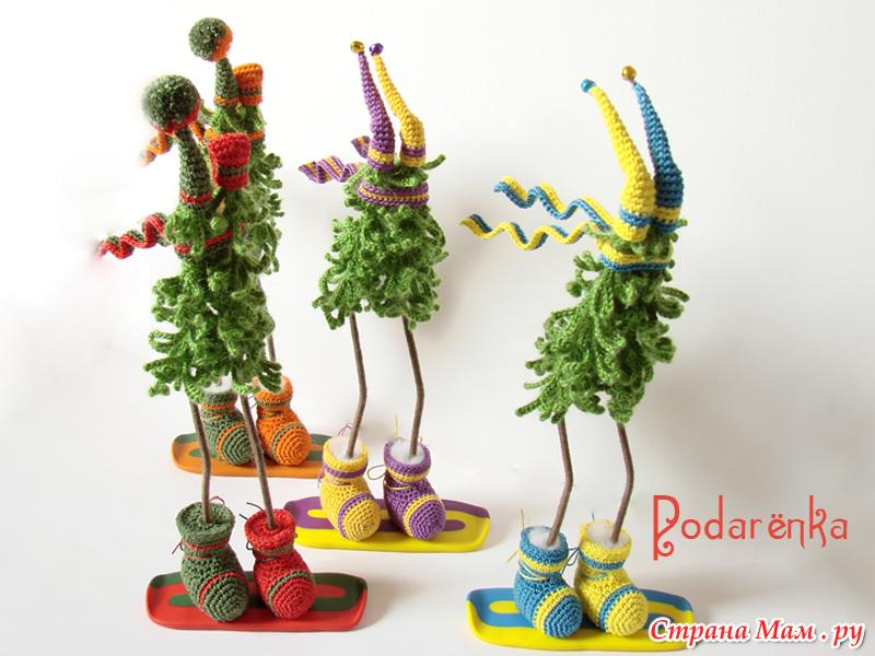 Креативные игрушки на ёлку своими руками