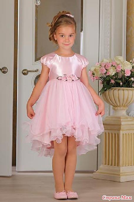 Праздничное детское платье своими руками - Русское золото