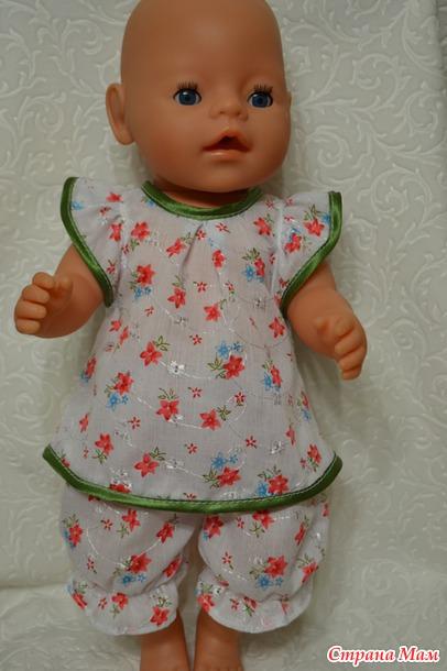 Сшить для кукол беби бон 351