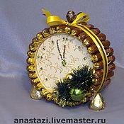 Часы на новый год своими руками из