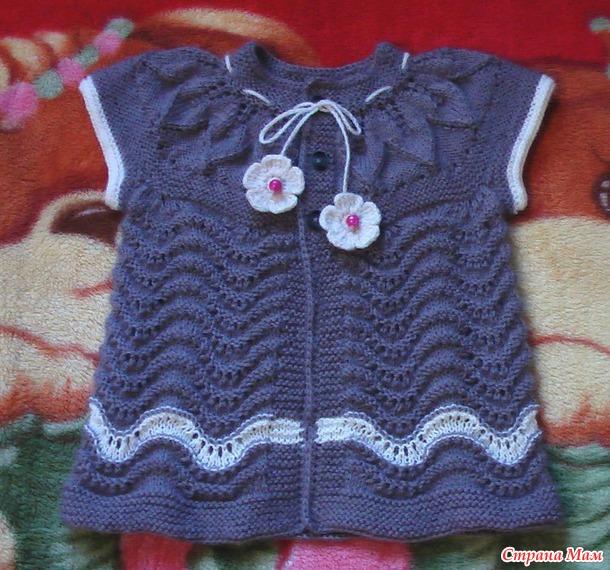 Вязание спицами для девочки 2 годика