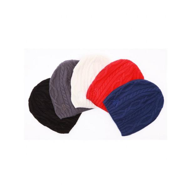 Мужские  шапки спицами