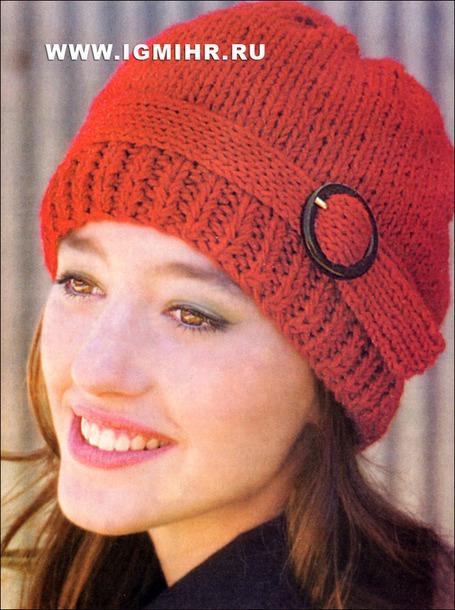 Просто и симпатично красная шапочка с