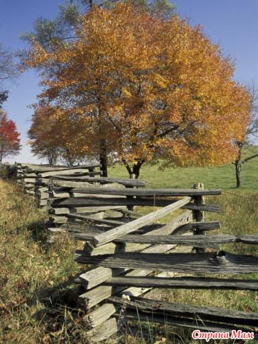 Пэчворк для начинающих, Американский забор, МК