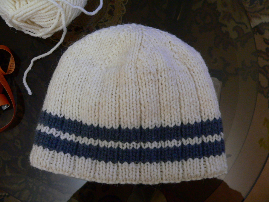 Вязание двойных шапок видео