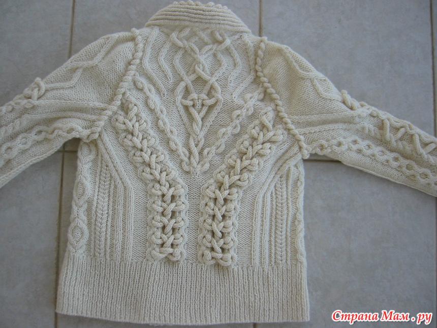 Вязание аранов спицами: