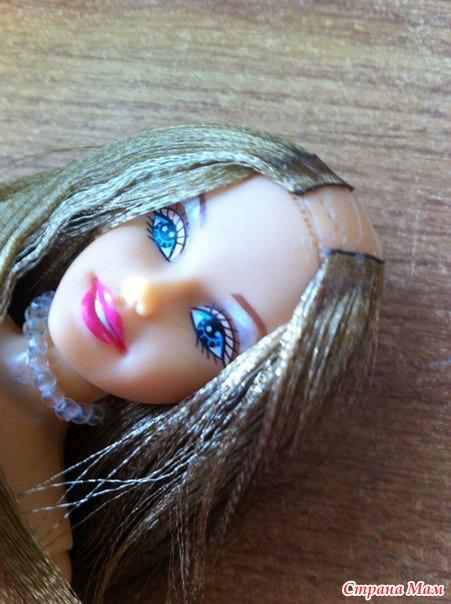 Реставрация волос Барби. Мини МК