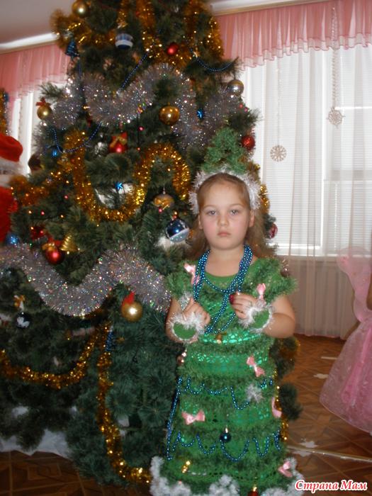 Новогодний костюм елочка украина