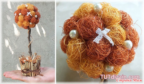Топиарий шары своими руками