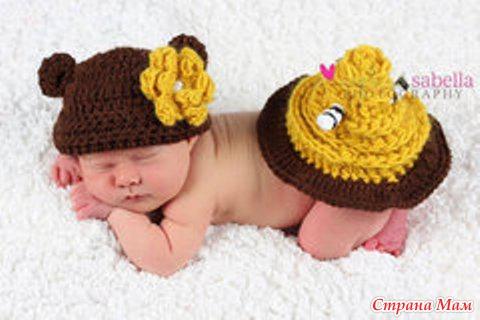 Фотосессия для новорожденного.
