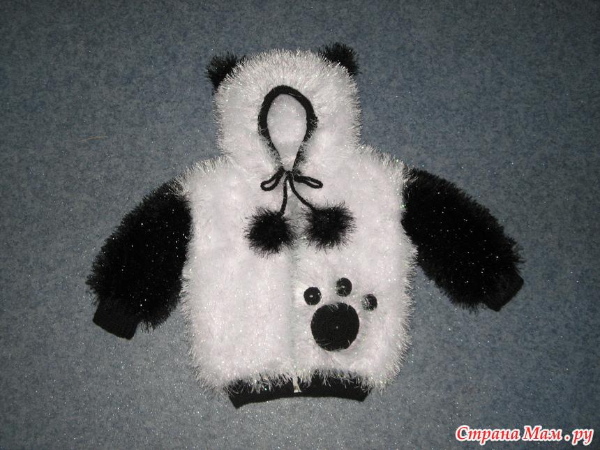 Панда вязание для детей 69