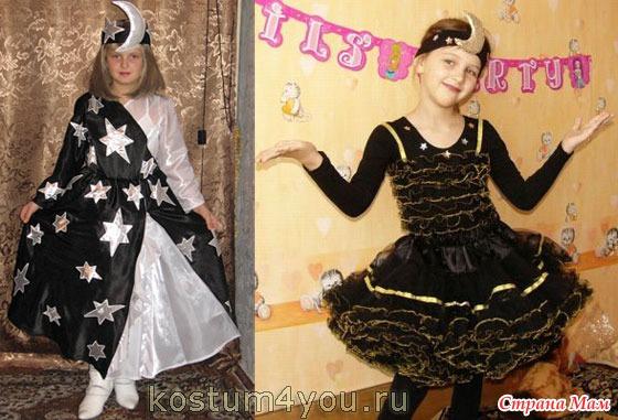 Новогодние костюмы для девочек своими руками 12