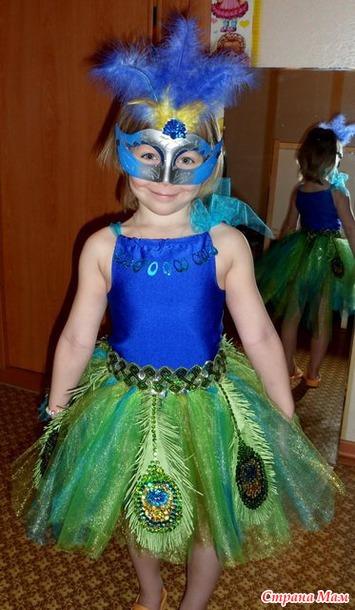 Как своими руками сделать костюм на новый год для девочки