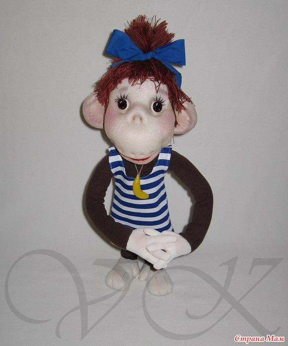 Сделать обезьяну своими руками мастер класс
