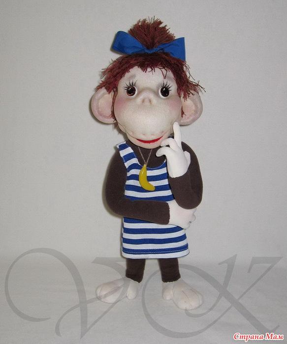 Сшить обезьяну своими руками из капрона мастер