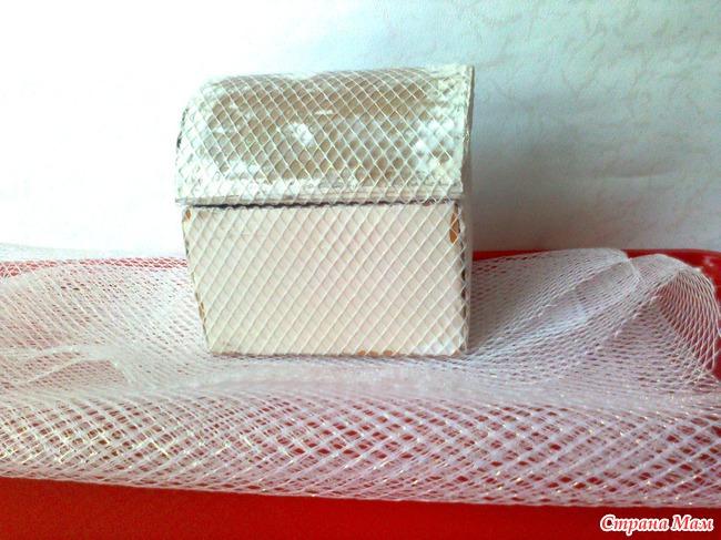 Шкатулка-сундучок из картона своими руками.МК - emexpress
