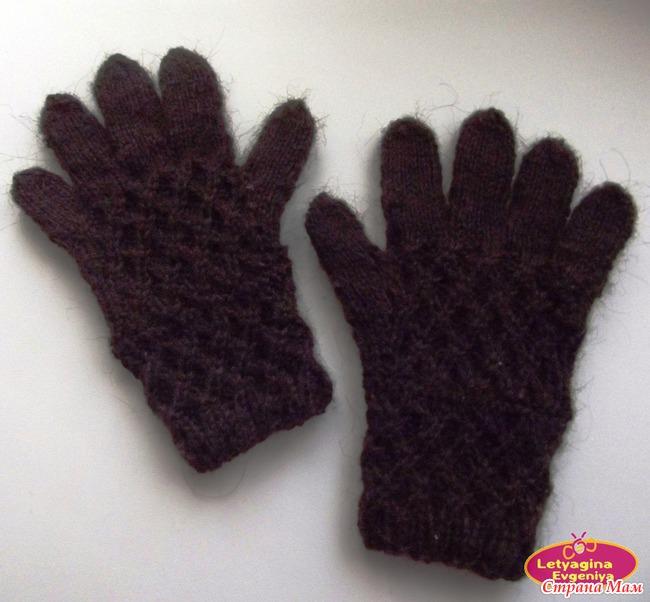 Страна мам вязание перчаток