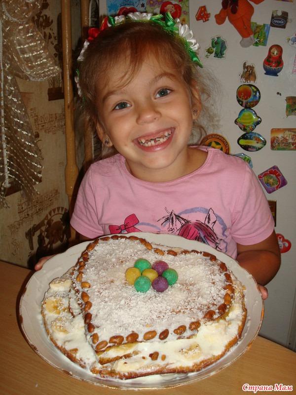 З маленької хмарки- великий дощ, или витаминно-тыквенный торт из Крыма