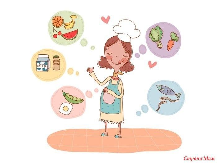 Питание режим и гигиена беременной