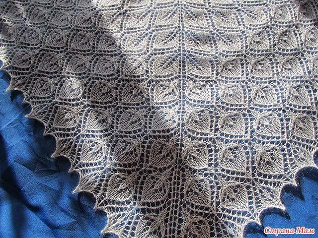 Шали и шарфы спицами | Записи