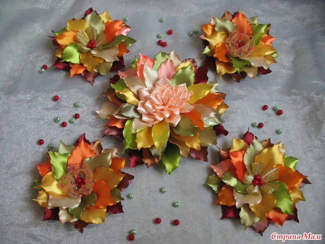 "Мастер-класс ""Осенний букетик"""
