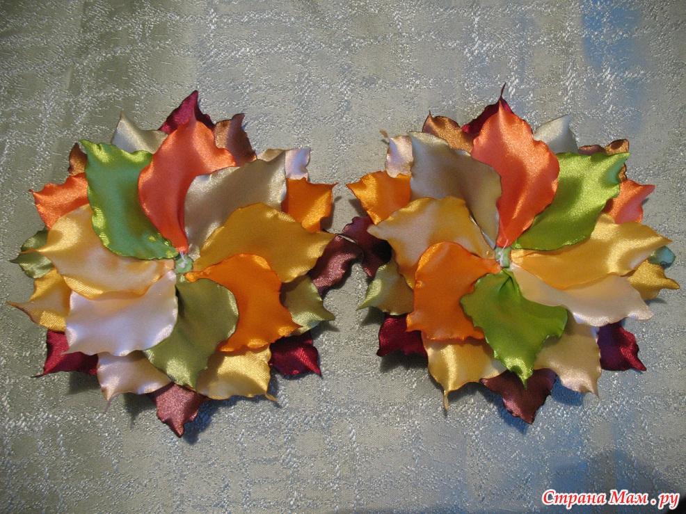 Осенний мастер класс фото