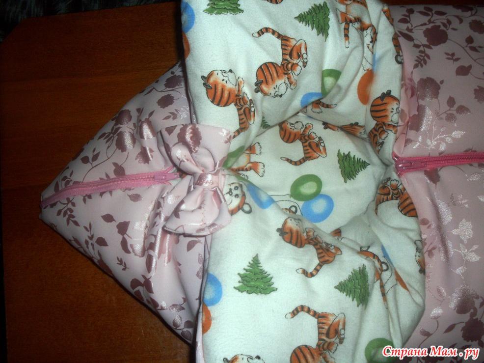 Вязание носок для новорожденного 730