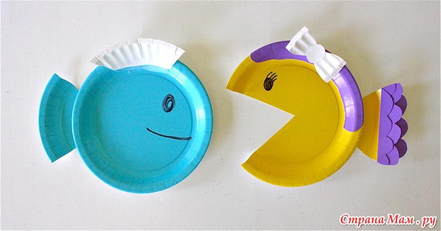 Поделки из пластиковой тарелки своими руками
