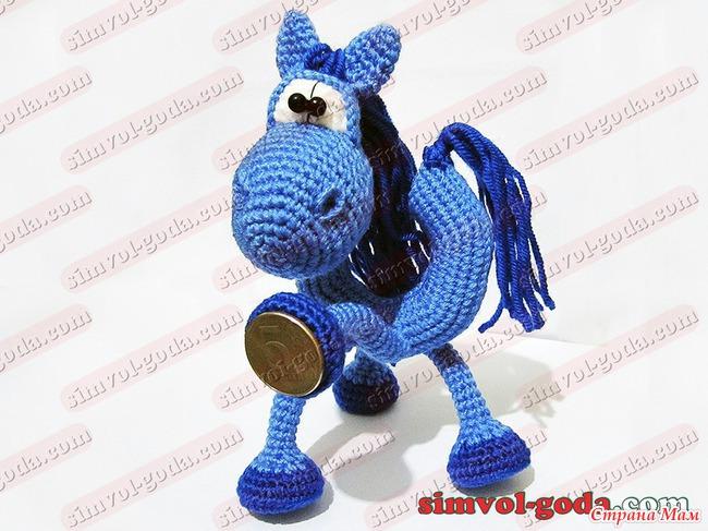 лошадки крючком - идеи и