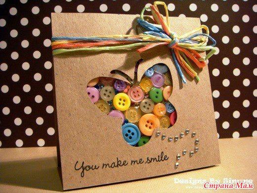 Идеи открыток своими руками для детей