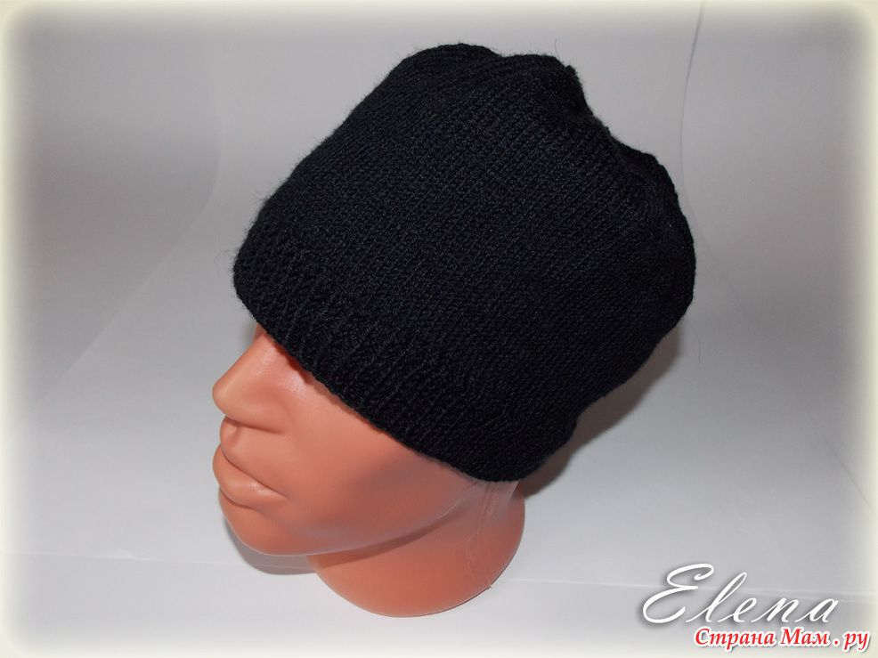 Вязание донышка у шапки спицами