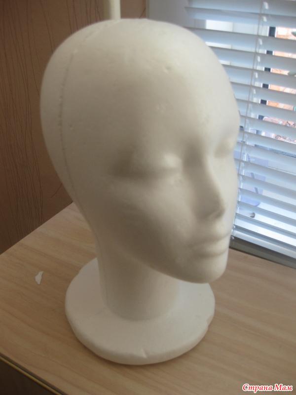 Сделать манекен голова