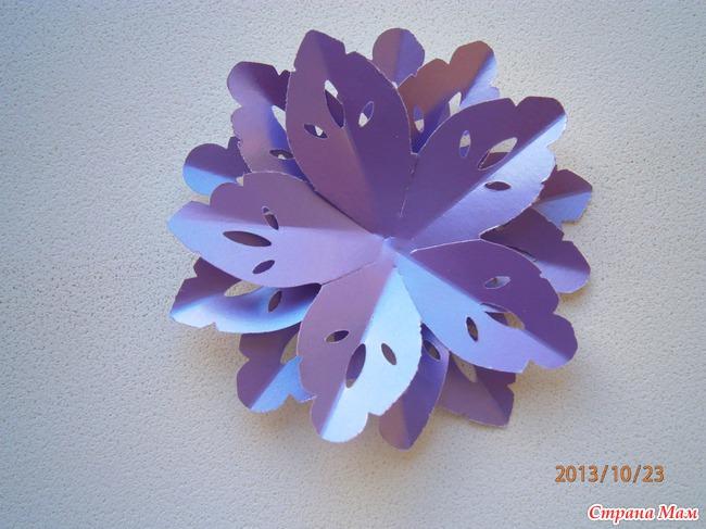 Мастер-класс цветочка