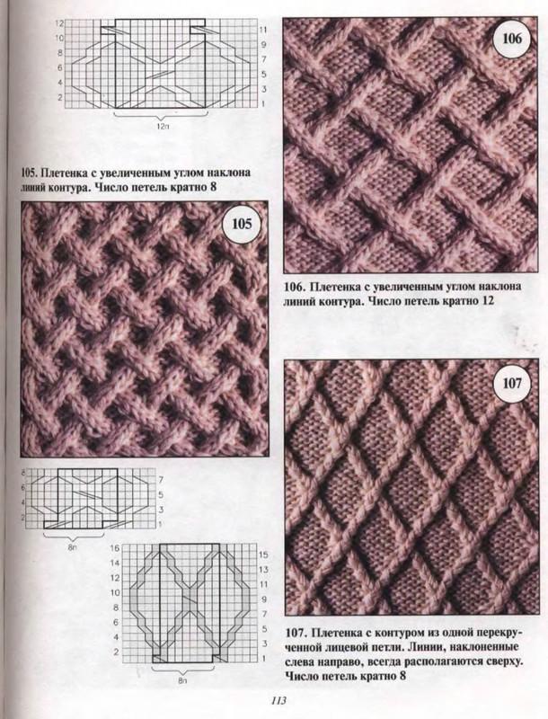 Плетенка с увеличенным углом наклона