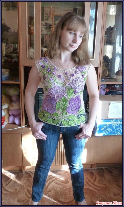 漂亮的罗马尼亚花边衣(44) - 柳芯飘雪 - 柳芯飘雪的博客